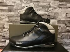 Timberland Euro Rock Hiker Boots Black UK Size 9 US 9.5 BNWB 100 % AUTHENTIC