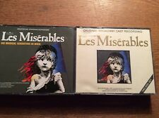 Les Miserables [2x CD Box] Original Broadway Cast + Deutsche Original Aufnahme