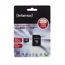 Schede di memoria MicroSDHC Intenso per fotocamere e videocamere