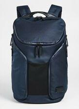 NWT TUMI Taho Rockwell Navy Tech Laptop Travel  Backpack w/ Foldout Rain Co