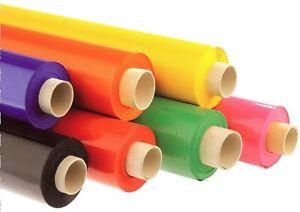 1 Rolle Lackfolie ROT 1,3m x 30m Hochglanz PVC 180g M320052