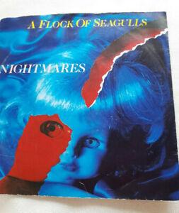 """A Flock Of Seagulls Nightmares """" Single Vinyl Schallplatte"""