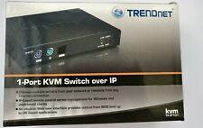 TRENDnet KVM TK-IP101 - 1-Port KVM Switch over IP