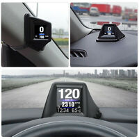 Car Windshield Head Up Display OBD+GPS HUD Projector Water Temp GPS Speedometer