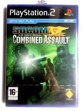 Socom Combined Assault PS2  Playstation Nuevo Precintado Retro Sealed New PAL/UK