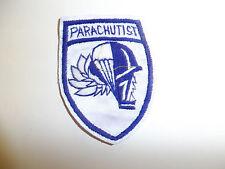 b2926 WW2 US Army Airborne OSS Kunming Parachute School patch silk R3C