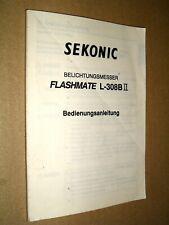 Sekonic Flashmate L-308B II - Original Anleitung