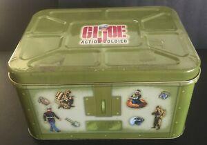 Hasbro Inc. Vintage Collectible Green GI Joe Action Soldier Tin 1998