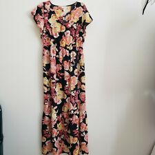 Womens Isabel Maternity Floral Maxi Dress Size XS NWT