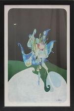 Rupert Stöckl (1923 - 1999) - Eisblume Siebdruck signiert