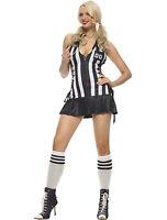 Sexy Women's Referee Halloween Costume
