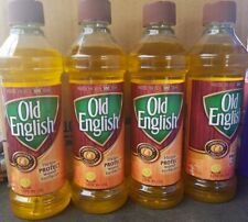Lot of 4Old English Conditions - Protects Wood Furniture Polish, Lemon Oil 16 oz