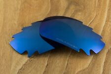 Deep Cobalt Blue Polarized Vented Mirrored Replacement Lenses for Oakley Jawbone