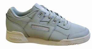 RRP £69.99 Womens Reebok Workout Plus Chalk//Rose Gold Trainers SF1