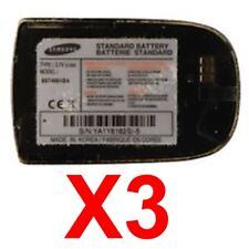 Lot Of 3 Oem Samsung Bst468Aba Oem Battery For Samsung Sch-A840 Sph-A840 Pm-A840