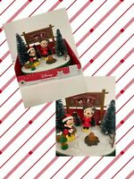 Disney Mickey & Minnie Mouse CHRISTMAS ANIMATED Musical TABLE PIECE Camping Gift