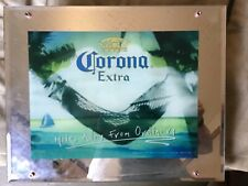 Corona Extra Miles Away From Ordinary Lights, Sound, Motion Mirror Sign