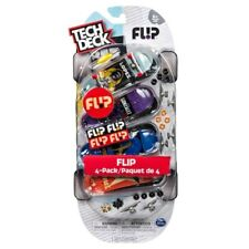 TECH DECK 4 PACK FLIP  96MM FINGERBOARDS ULTRA RARE