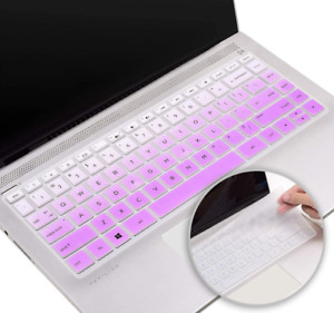 """Silicone Keyboard Cover Skin for HP Pavilion x360 14"""" Laptop 14t 14-CD 14M-BA"""