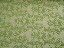 Sunbrella Paris Green Chenille Jacquard In/Outdoor Upholstery Fabric Bty 5105Fe