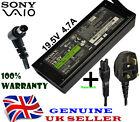 Genuine Sony vaio PCG-61411L VGP-AC19V41 VGP-AC19V35 Charger Adapter Power cable