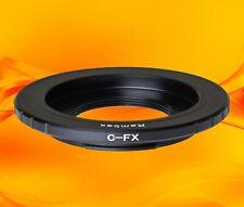 RAMBEX  CCTV C-mount Cine Movie Film Lens to Fuji-X Body Adapter XF XC Fujifilm