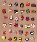 Vtg Dutch Football Club Logo pin badge 1960s ACB ADO den HAAG AGOVV