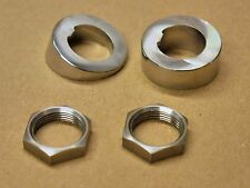 Mk1 Escort Windscreen Wiper Motor Crome Spacers & Nuts TwinCam RS1600 Mexico