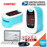 Finger Pulse Oximeter SPO2 Sensor Pulse Heart Rate Meter Blood Oxygen O2 Monitor