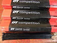 DT SWISS COMPETITION Spokes Black 2.0/1.8mm Dbl. Butted *Any Qty**Custom Length*
