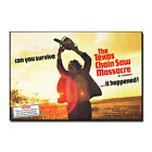 EXAS CHAINSAW MASSACRE Classic Horror Movie Silk Poster Art Prints 12x18 24x36