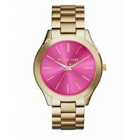 Orologio Michael Kors da donna Collezione Slim Runway MK3264 Quadrante fucsia