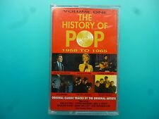 "VARIOUS ARTISTS  "" THE HISTORY OF POP 1958 - 1965  VOLUME ONE ""  CASSETTE"