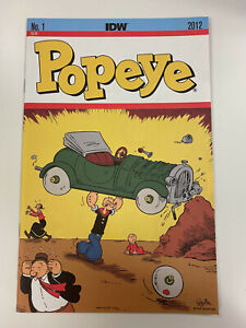IDW: POPEYE: ISSUE #1: NM CONDITION: HOMAGE COVER