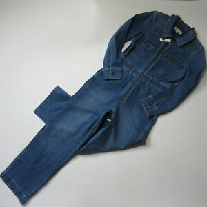 NWT Madewell Denim Zip-Front Coverall Jumpsuit in Bramblewood Western Edition 2