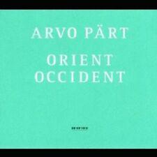 ARVO/KALJUSTE,TONU PÄRT - ARVO PÄRT/ORIENT & OCCIDENT  CD NEU