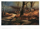 Leaving the Sanctuary by Terry Redlin Signed Limited Edition 960 Paper NEW RARE