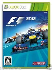 Used Xbox 360 F1 2012 MICROSOFT JAPAN JP JAPANESE JAPONAIS IMPORT