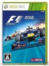 Used Xbox 360 F1 2012 MICROSOFT JAPAN JP JAPANESE JAPONAIS IMPORT