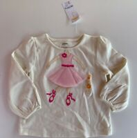 GYMBOREE GLAMOUR BALLERINA BALLET TOP SHIRT GIRLS SZ. 2T NWT