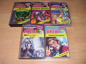 Larry Brent - MC Hörspielkassetten  Folgen 2,4,7,11,12