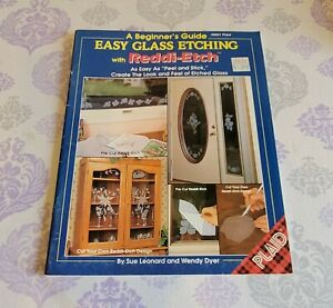 Plaid A BEGINNER'S GUIDE EASY GLASS ETCHING With REDDI-ETCH #8821