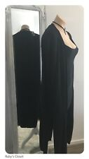Long Black cardigan / new with Tags / size- / Medium / Large