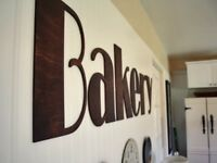 Flat Acrylic Internal Signs for the Home, Office & Shop (price per letter)