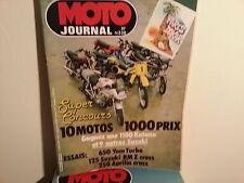moto journal n538 14jan1982 paris dakar essai 650yam turbo 125suzuki rm cross