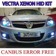 VAUXHALL VECTRA H7 XENON HID CONVERSION KIT SLIM CANBUS BALLAST 43K 6K 8K 10K