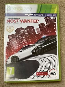 Need for Speed Most Wanted (Xbox 360, 2012)