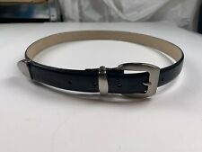 Women's Paul Harris Black Belt Size L F-17