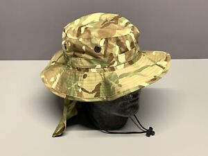 NEW British Army-Issue MTP Bush Hat. Size 56cm.