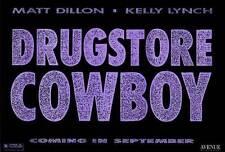 DRUGSTORE COWBOY Movie POSTER 27x40 B Matt Dillon Kelly Lynch James Remar James
